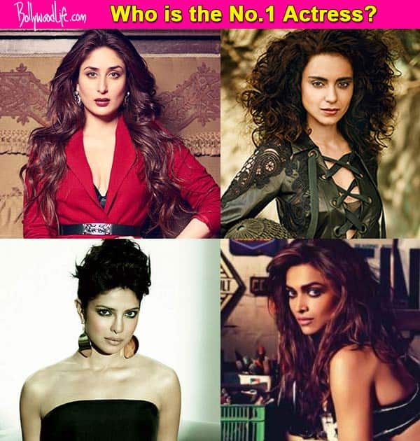 Deepika Padukone, Priyanka Chopra, Kareena Kapoor or Kangana Ranaut – Who is Bollywood's No.1 Heroine?