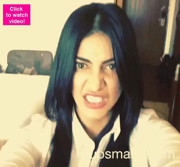 When Shruti Haasan turned The Hulk for Dubsmash – watchvideo!
