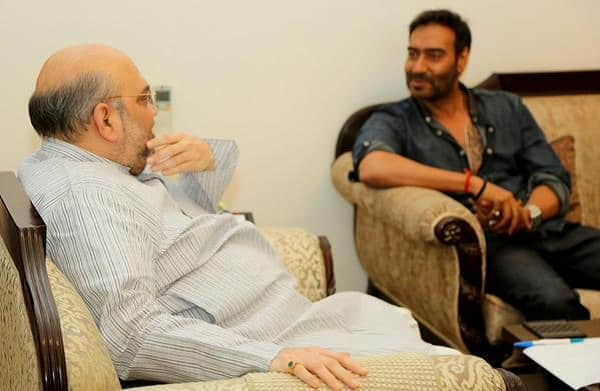 Ajay Devgn's Drishyam gets a thumbs up from BJP President Amit Shah – view pic!