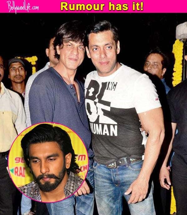 Salman Khan kicks Ranveer Singh out of YRF's next Shah Rukh Khan starrer!
