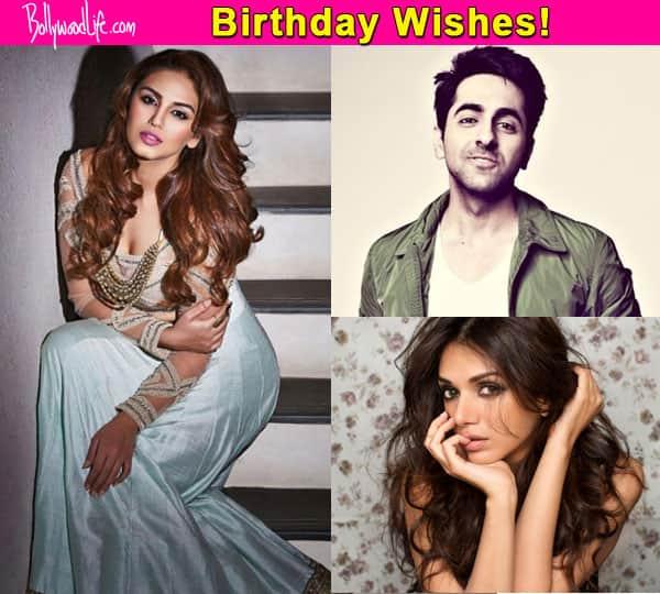 Ayushmann Khurrana, Aditi Rao Hydari wish Huma Qureshi a happy birthday