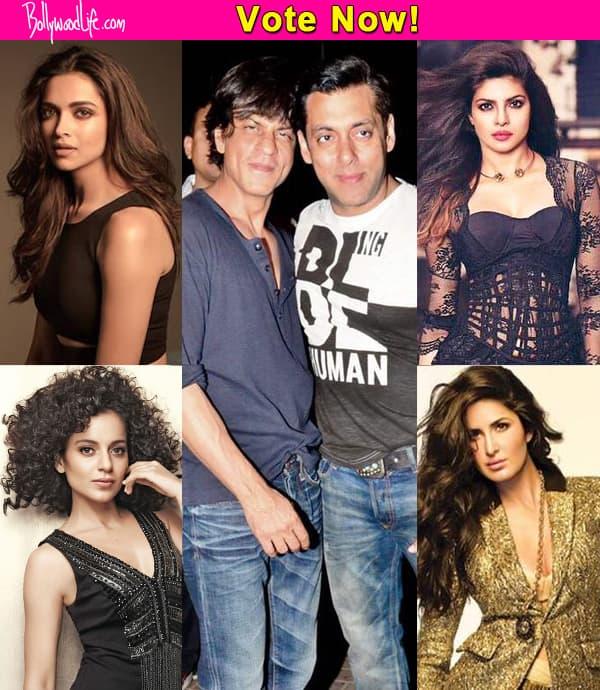 Priyanka Chopra, Katrina Kaif, Deepika Padukone, Kangana Ranaut – Who do you want to see in YRF's Salman and Shah Rukh Khan starrer?