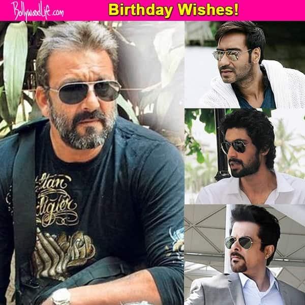 Ajay Devgn, Rana Daggubati, Anil Kapoor celebrate Sanjay Dutt's birthday on twitter