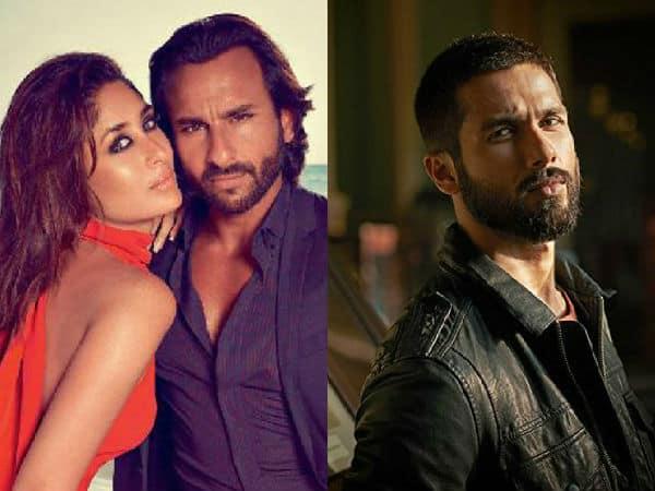 Image result for Shahid Kapoor vs Kareena Kapoor - Saif Ali Khan