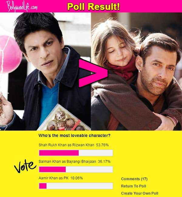 Fans loved Shah Rukh Khan in My Name is Khan MORE than Salman Khan in Bajrangi Bhaijaan!