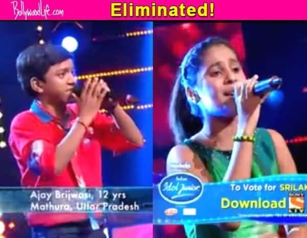 Indian Idol Junior eliminations: A Double shocker as both Ajay Brijwasi and Srilakshmi Belmannu eliminated!