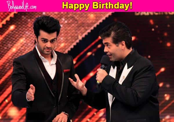 Manish Paul demands a Karan Johar film as his birthday gift; KJo are you listening?