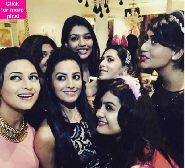 Check out inside pics of Yeh Hai Mohabbatein's Divyanka Tripathi-Anita Hassanandani from their co-star Shireen Mirza's birthday bash!