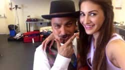 Amyra Dastur and Vinay Pathak shoot for upcoming film Ticket To Bollywood – view HQ pics