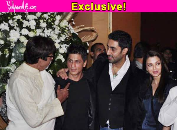 Shah Rukh Khan and Gauri to watch Aishwarya Rai Bachchan's Jazbaa first!