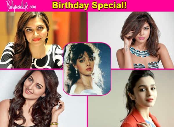 Priyanka Chopra, Deepika Padukone, Alia Bhatt – 7 actresses who can reprise Sridevi's iconic roles!