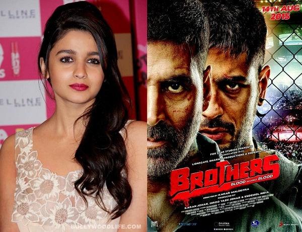 Alia Bhatt is all praise for Sidharth Malhotra-Akshay Kumar's Brother's director Karan Malhotra