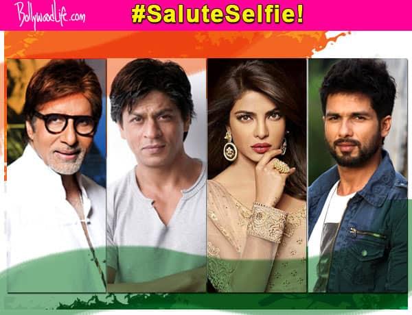 Independence day quotes: Amitabh Bachchan, Shah Rukh Khan, Priyanka Chopra, Shahid Kapoor share their #SaluteSelfies
