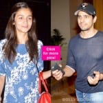 Sidharth Malhotra and Alia Bhatt's dinner date gets BUSTED - view pics!