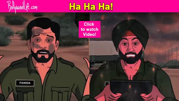 Sunny Deol fights Fawad Khan – a hilarious spoof you just can't miss! Check it out…