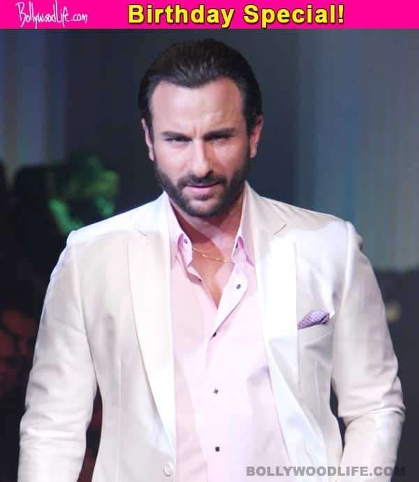 7 roles of Saif Ali Khan that the actor loved playing!