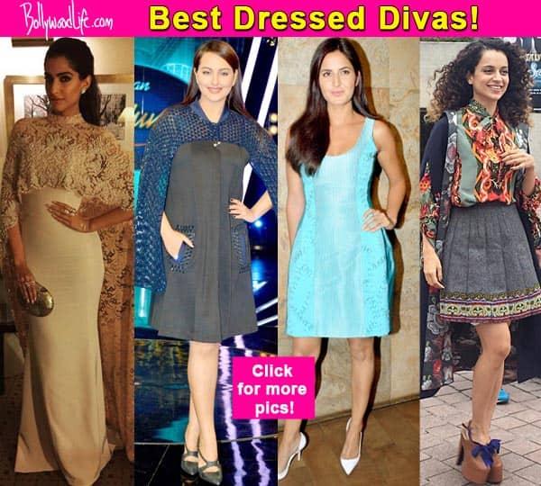 Sonam Kapoor, Kangana Ranaut, Sonakshi Sinha: Best dressed divas this week!