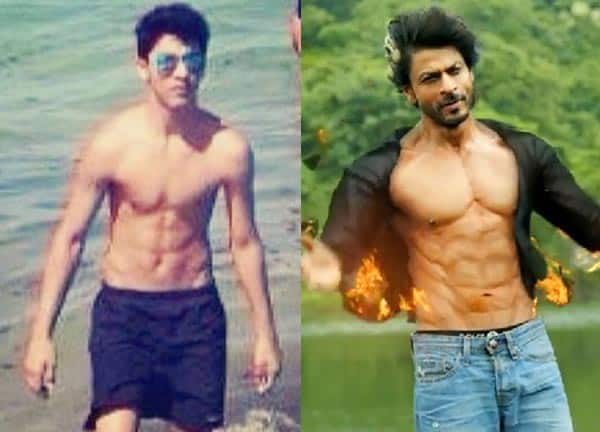 This is how Aryan is trying to be hotter than Shah Rukh Khan!