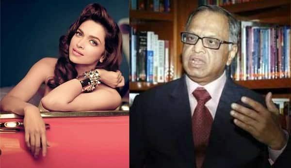 Deepika Padukone has brought joy to a billion Indians, says Infosys co-founder Narayana Murthy