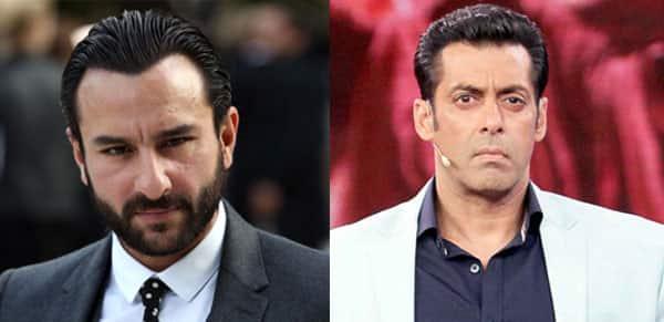 Did Saif Ali Khan say NO to Salman Khan?