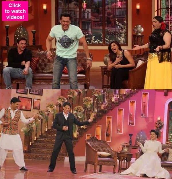 Shah Rukh Khan, Salman Khan, Sunny Leone- 5 best videos of B-town celebs from Kapil Sharma's Comedy Nights WithKapil!