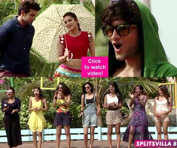 MTV Splitsvilla 8 sneak peek: Sunny Leone's surprise makes Gaurav blush!