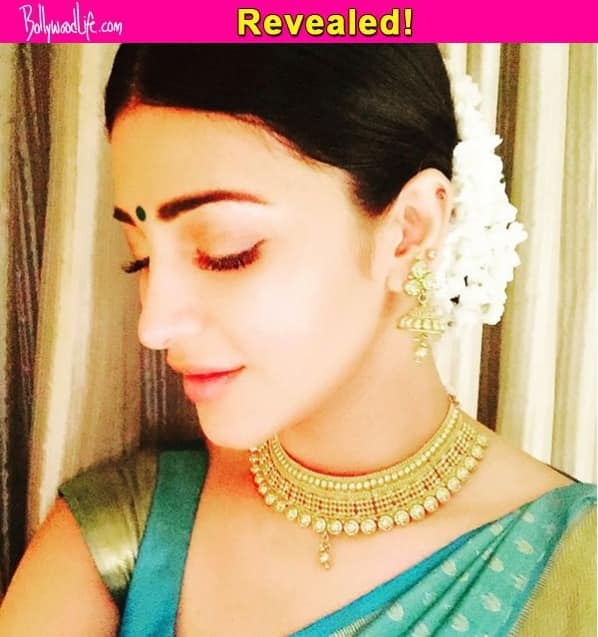 Revealed: Shruti Haasan's traditional look from Ajith's Thala 56 – view pics!