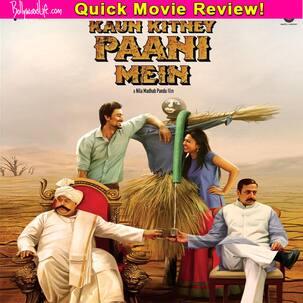 Kaun Kitney Paani Mein quick review: Saurabh Shukla outshines the rest in this Kunal Kapoor-Radhika Apte starrer!