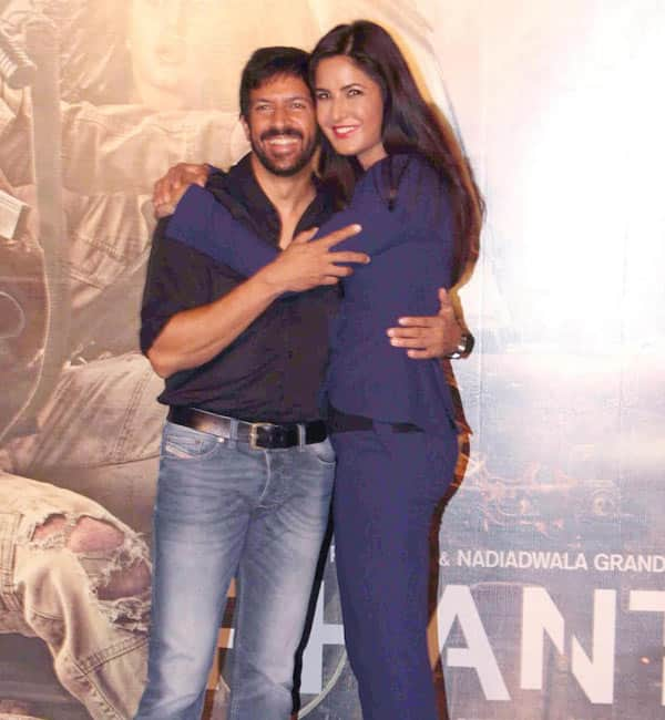 Katrina Kaif and Kabir Khan have their fingers crossed – find out why!