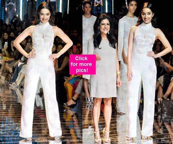 Lakme Fashion Week 2015: Shraddha Kapoor scorches the ramp in Namrata Joshipura's collection- view HQ images!