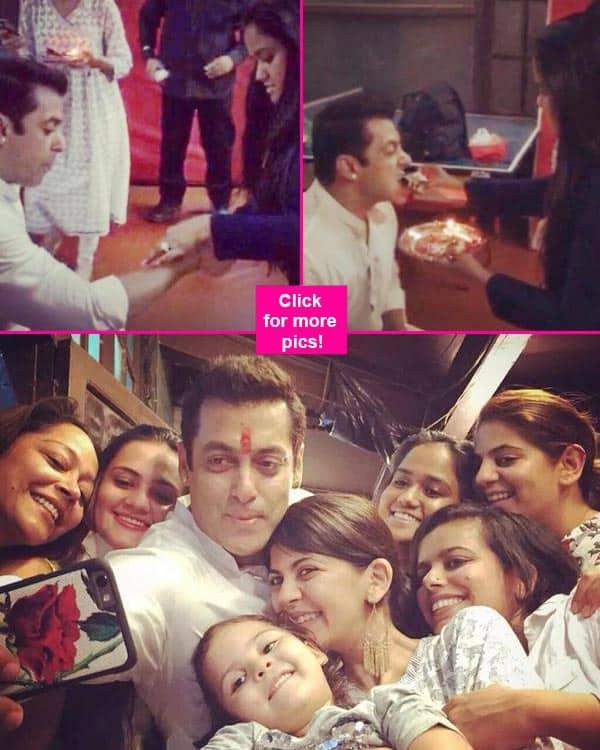 Salman Khan celebrates Rakshabandhan with sister Arpita Khan – view pics!
