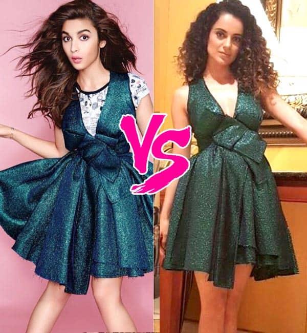 Alia Bhatt or Kangana Ranaut – who wore it better? Vote!