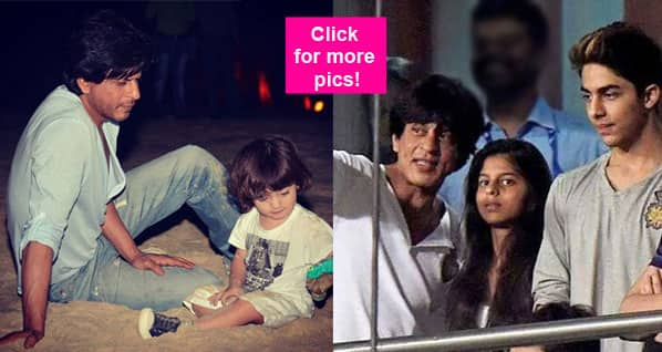 20 pics that prove Shah Rukh Khan loves his kids more than anyone!