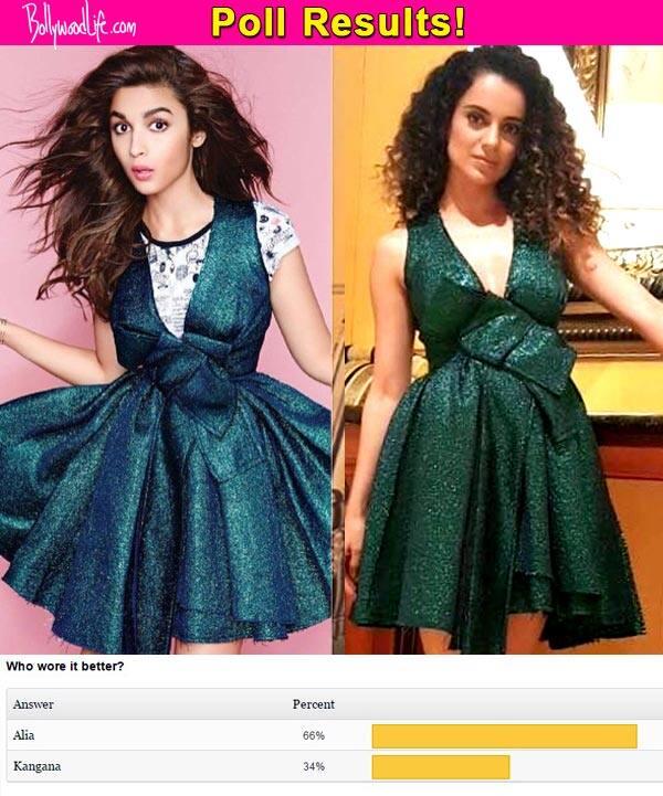 Alia Bhatt wore it better than Kangana Ranaut, say fans!