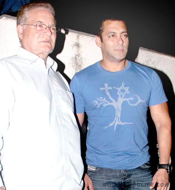 Is Salman Khan upset with his father Salim Khan?