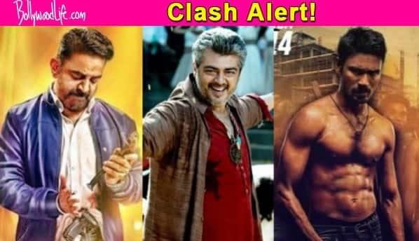 Mega Diwali Clash: It's Ajith's Thala 56 versus Kamal Haasan's Thoongavanam versus Dhanush's VIP 2!