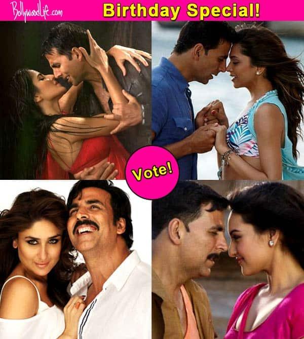 Katrina Kaif, Kareena Kapoor, Priyanka Chopra, Deepika Padukone, Sonakshi Sinha – Who looks good with Akshay Kumar? Vote!