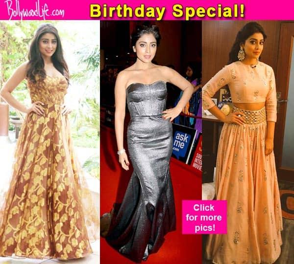 Check out Shriya Saran's 7 best fashion statements!