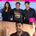 Salman Khan's fan UPSET with Sooraj Pancholi and Athiya Shetty's Hero – watch video!