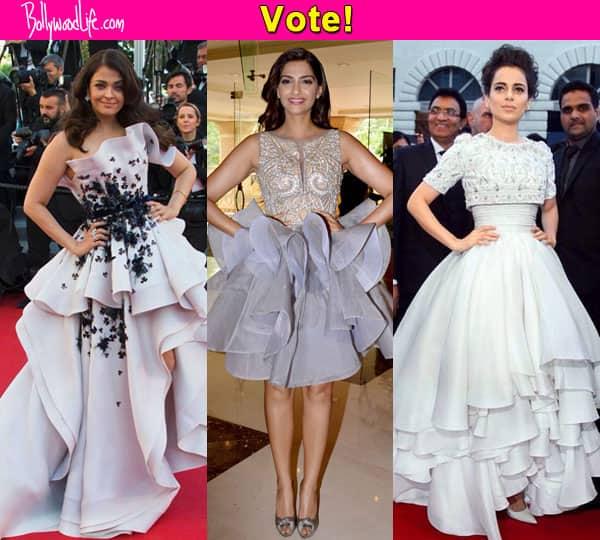 Aishwarya Rai Bachchan, Kangana Ranaut or Sonam Kapoor – which ruffled beauty is best?