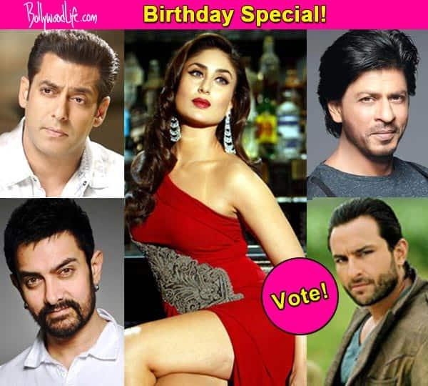 Birthday Special: Salman Khan, Shah Rukh Khan, Saif Ali Khan – who looks the best with Kareena Kapoor Khan?