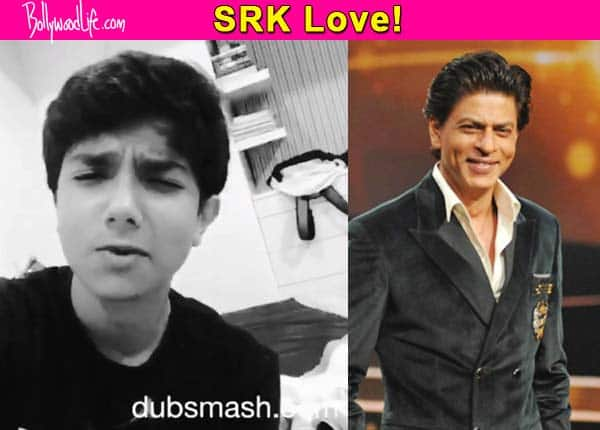 After Saif Ali Khan's son, Salman Khan's nephew is now crushing on Shah Rukh Khan – watch video!