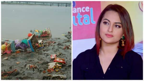 Sonakshi Sinha on Ganpati visarjan; says it's very disheartening to see images of the beach full of disfigured idols!