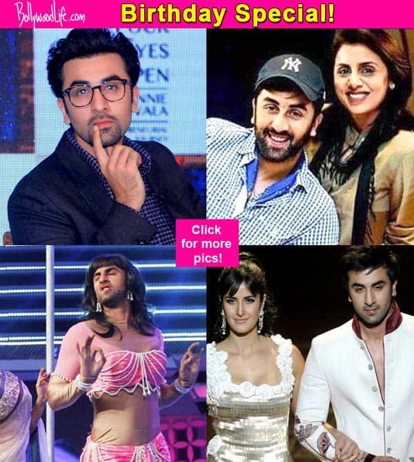 The mama's boy, the charming Casanova, the secretive BF – the many faces of Ranbir Kapoor!