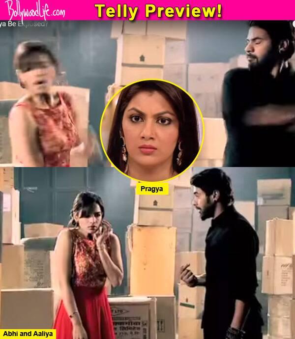 Kumkum Bhagya: Pragya exposes Aaliya and Abhi slaps her – watch video!