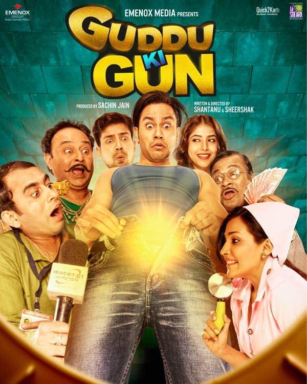 Guddu Ki Gun poster: This Kunal Kemmu film looks KINKY yet funny!