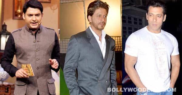 Kapil Sharma NOT a Salman Khan fan anymore; picks Shah Rukh Khan as his favourite!