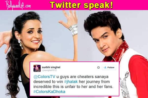 Jhalak Dikhhla Jaa Reloaded winner should have been Sanaya Irani and NOT Faisal Khan, think fans!