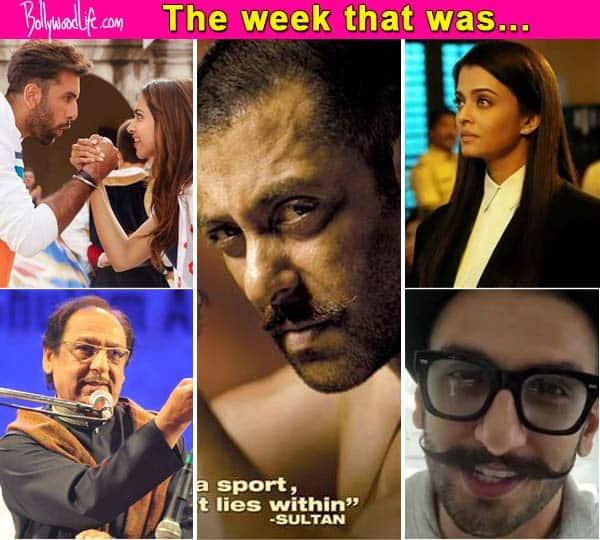 Salman Khan's Sultan, Aishwarya Rai Bachchan's Jazbaa and Ghulam Ali controversy – top 5 news makers of the week!