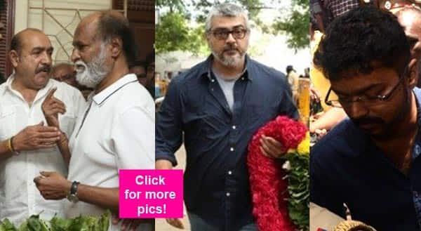 Rajinikanth, Ajith, Vijay, Simbu pay their last respects to late actress Manorama – view pics!